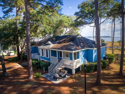 Photo for OCEAN FRONT 'BLUE FUSKIE' COTTAGE  - POOL - FABULOUS!!