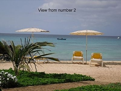Photo for Stunning Front Line Apartment No 2, Sleeps 6 (3 Bedrooms)