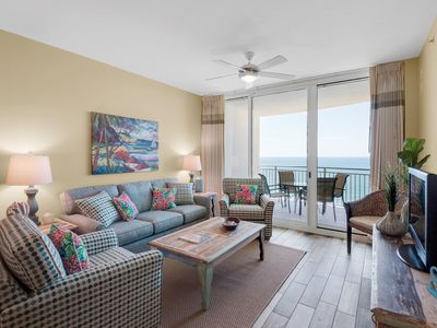 Photo for Aqua 2107 - Gulf Facing Master Bedroom and Living Room!