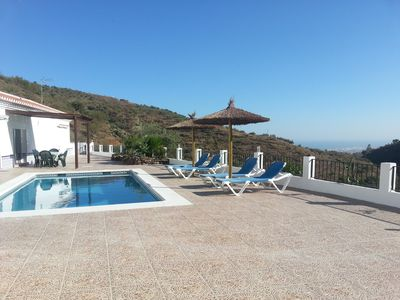 Photo for Totally private villa for 4 people with pool near beaches