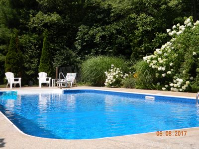 Photo for Lambert's Cove Beach, private pool, lovely home. Flexible rental dates.