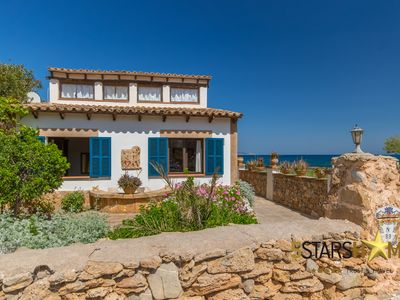 Photo for Villa for 6 adults and babies, facing the sea with sea view, ideal for families