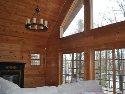 Photo for Spacious Lakeside Berkshire Home Close to Tanglewood and Jacob's Pillow