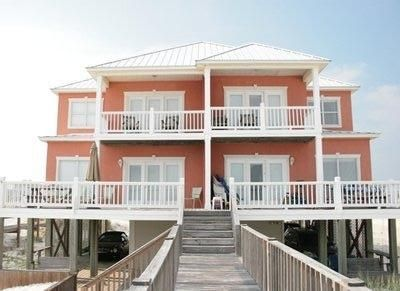 Front View of Morgantown Beachfront Home