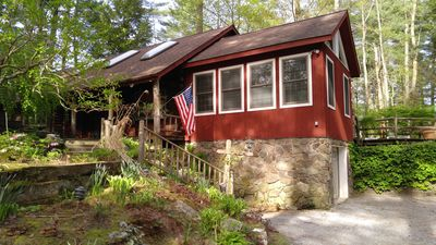 Photo for Log style home 4 miles to Catamount with fitness room