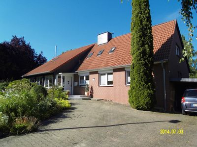 Photo for Comfortably furnished apartment right on the gate to the Harz National Park