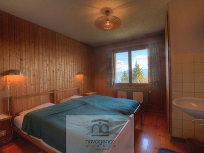 Photo for 2 floors chalet with : Ground floor : entrance corridor, 1 bedroom with 2 single beds, 1 bathroom an