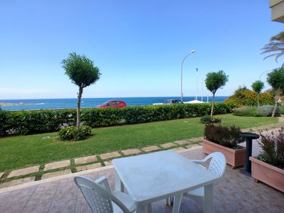 Photo for Cozy three-room apartment 50 meters from the beach of Lido Pazze.