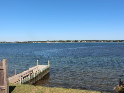Photo for Waterfront With A Dock In Gray Gables, Bourne, Cape Cod