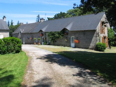 Photo for spacious 5 bedroom longère family or group vacation up to 10