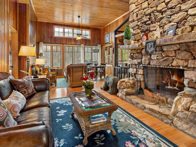 Photo for River Rock Cabin - Mr. Lake Lure Vacation Rentals
