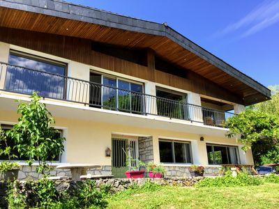 Photo for Savoyarde Chalet with stunning mountain views in the Chartreuse National Park