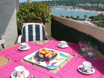 Photo for Elegance and nice view over Cap D'Antibes and beaches