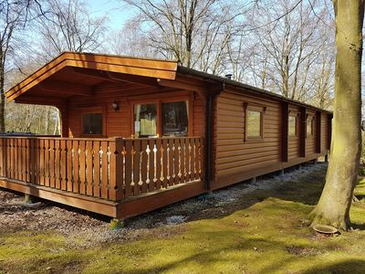 Photo for Poppy Lodge, Kenwick Park Woods, near Louth, Lincolnshire