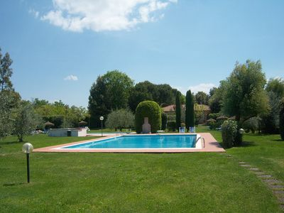 Photo for Magnificent 2 bedroom-apartment with dishwasher, wifi on a well-kept winery
