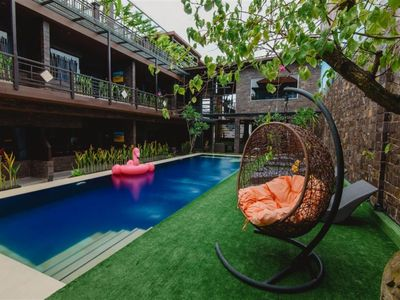 Photo for 3 Private Bedroom Boutique Hotel Seminyak 6 Adult Non Breakfast