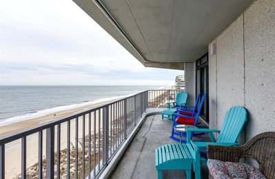 Photo for Ocean Front 2 Bedroom Condo In Sea Terrace with Outdoor Pool!