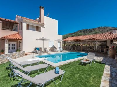 Photo for Vacation home Korini in Panormos, Rethymnon - 8 persons, 4 bedrooms