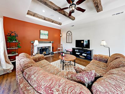 Living Room - Welcome to Paso Robles! This stunning home is professionally managed by TurnKey Vacation Rentals.