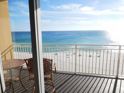 Photo for 306 Sterling Reef - 3rd floor, 2 bedroom, 2 bath condo W/ Free Beach Service 2019