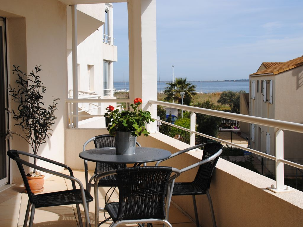 Appartement dans le charmant village de Marseillan