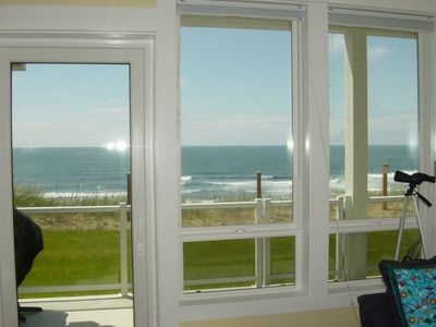 Photo for Spring Rates!! - Private Hot tub, Oceanfront! Fireplace, Kitchen, Pool & Game Rm