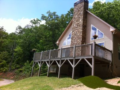 Photo for Scenic Mountain Home, 3.5 Acres on Mirror Lake Ranch!