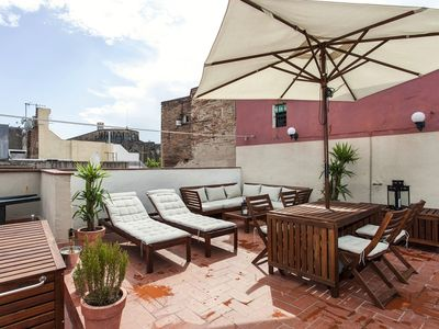 Photo for *****Borne Private Rooftop Terrace
