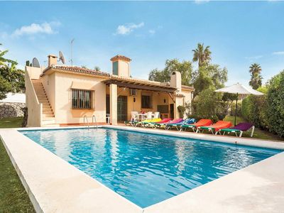 Photo for 3 bedroom Villa, sleeps 6 in Artola with Pool, Air Con and WiFi
