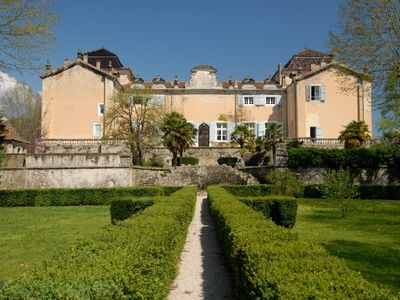 Photo for Magnificent Eastern Wing of 17th Century Chateau ~ pool, stunning waterfall view