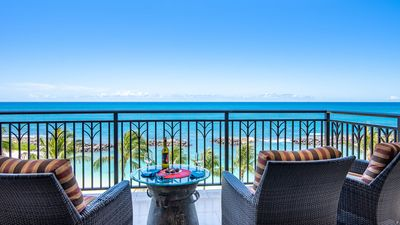 Photo for Direct Ocean Front 2 Bedroom, 2 Bath Condo: Close as You can get to the Ocean (B610)