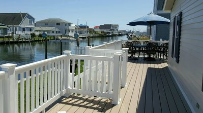 Photo for Fenwick Island Waterfront 3BR Home, Bay access!