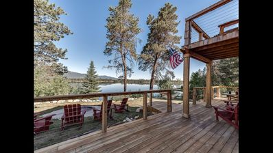 Photo for Luxury Lake House on Cascade Waterfront in Donnelly near McCall