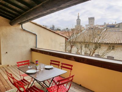 Photo for Apartment Avignon historic center 3 bedrooms / terrace / air conditioning / Wifi / park