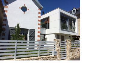Photo for New villa of 170 m² located in the hyper center of La Baule, close to the beach