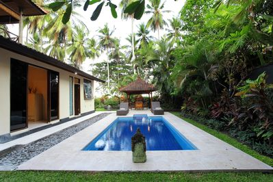 Seafront Villa, East Bali. Surfing beach