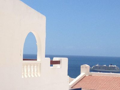 Photo for Spacious sunny flat in lovely PORT ROYALE with pool, large balcony, ocean view