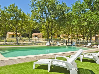 Photo for Villa 4/6 pers - 2 bedrooms - pool - wifi - enchanting setting