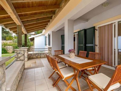 Photo for Vacation home Lucija in Rab/Kampor - 6 persons, 2 bedrooms