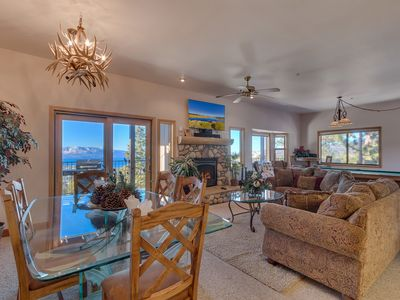 Photo for Tahoe Lake View Condo, indoor hot tub (SL294)