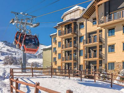 Photo for Park City Ski in Ski Out 1BR Deluxe Suite