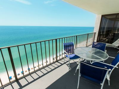 Photo for Free seasonal beach service at waterfront condo - pool, hot tub & tennis!