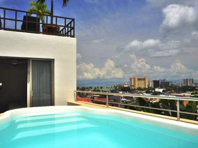 Photo for Villa  Europa - A Modern Private Home - Enjoy Views, Downtown and Beaches