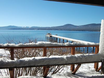 Photo for Winter Retreat-Lakefront home-Ski -Northstar, Incline, Views, Amazing Location!
