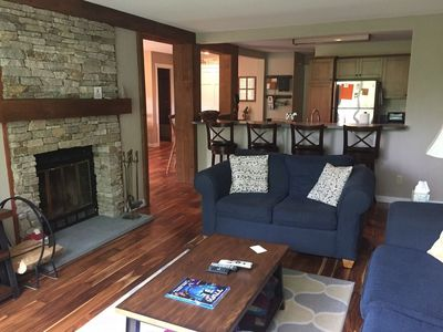 Photo for Spacious, Stylish Timber Creek Townhouse near Mount Snow; free shuttle