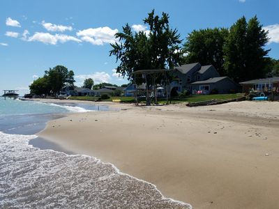 Photo for LAKE HURON WATERFRONT HOME OFFERS BEACH SUITE