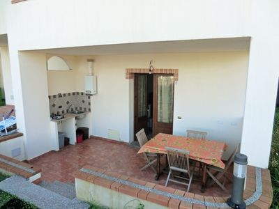 Photo for Three-room apartment 5 Torre di Barì, near the sea, with two bedrooms and covered terrace