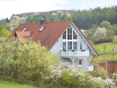 "Photo for A comfortable holiday home in the ""Dreiländereck"" area of Bavaria/Hessen/Thuringia"