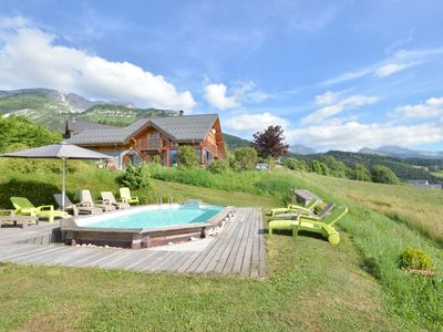 Photo for CHALET LE GRIZZLY WITH PRIVATE POOL (20 PEOPLE)