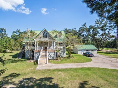 Photo for Experience South Louisiana Nature on the Bayou In This Private, Gated Estate.